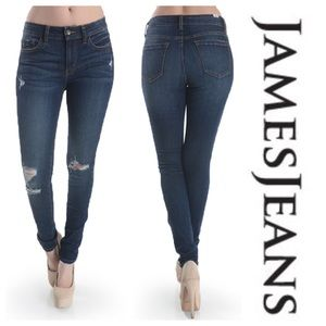 James Jeans Distressed Twiggy 25 x 29